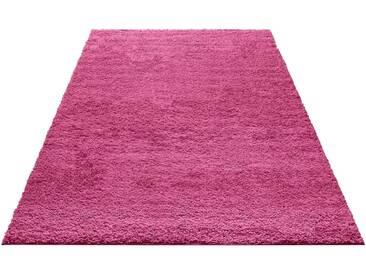my home Hochflor-Teppich »Bodrum«, rechteckig, Höhe 30 mm, rosa, 30 mm, rosé