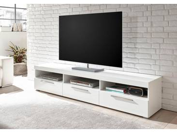 Bruno Banani TV-Lowboard »GOBA«, Breite 210 cm, weiß, weiß