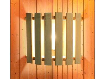 Karibu KARIBU Saunaleuchte »Modern«, zur Eckmontage, natur, 33 cm x 28 cm x 9 cm, natur