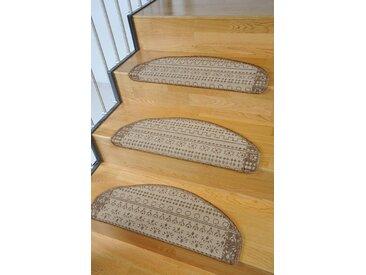 Living Line Stufenmatte »Elvet«, stufenförmig, Höhe 6 mm, Sisaloptik, braun, braun