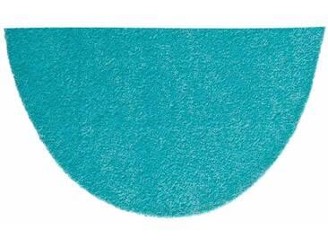 HANSE Home Fußmatte »Deko Soft«, U-förmig, Höhe 7 mm, saugfähig, waschbar, grün, 7 mm, mint