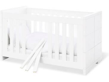 Pinolino® Pinolino Kinderbett, »Polar«, weiß, weiß