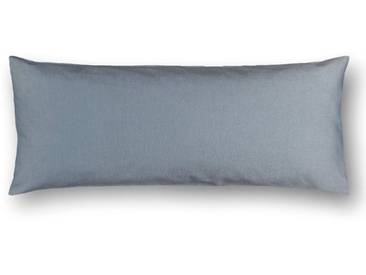 Casa di Bassi Kissenhüllen »in schmaler Form«, ÖkoTex 100 Standard 100, blau, Baumwolle, blau