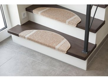 Andiamo Stufenmatte »Runner«, stufenförmig, Höhe 9 mm, natur, 9 mm, beige