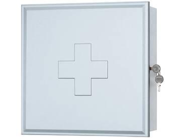 jokey Sieper Medizinschrank »Medibox«, weiß, weiß/silber