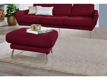 W.SCHILLIG Hocker »softy«, mit Heftung im Sitz, rot, winered