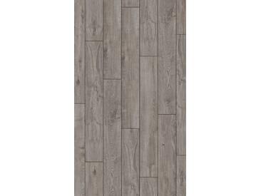 PARADOR Laminat »Classic 1050 - Eiche Lichtgrau«, 1285 x 194 mm, Stärke: 8 mm, grau, grau