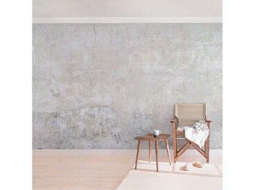 Bilderwelten Vliestapete Breit »Top Beton Tapeten«, grau, Motiv: Shabby Betonoptik, 255x384 cm, Grau