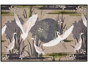 Salonloewe SALONLOEWE Fußmatte, natur, beige/grün