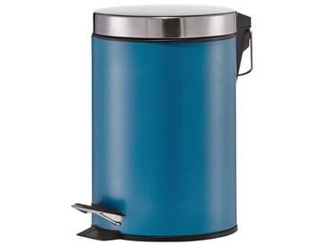 Zeller Present Kosmetik-Abfalleimer, blau, petrol