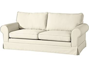 Max Winzer® 3-Sitzer »Harmony«, Breite 200 cm, natur, 200 cm, creme