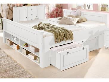 Home Affaire Bett, »Tessin«, Weiß, Weiß