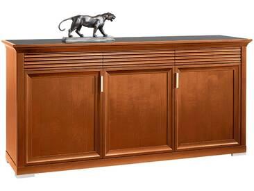 SELVA Sideboard »Luna« Modell 7231, mit dekorativen Fräsungen, braun, kirschbaumfarbig