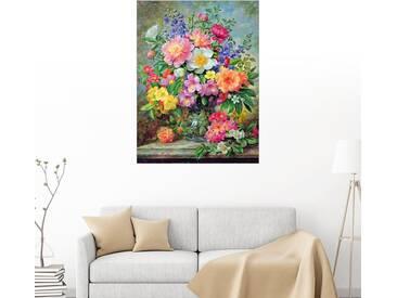 Posterlounge Wandbild - Albert Williams »Juni-Blumen in aller Pracht«, bunt, Holzbild, 120 x 160 cm, bunt