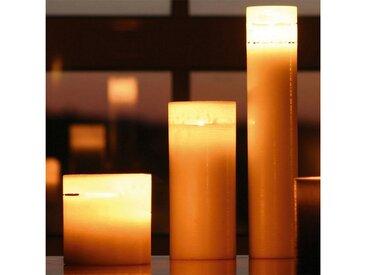 Amabiente  Kerze COCOON 10x10 cm, natur, elfenbein