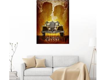 Posterlounge Wandbild - Albert Cagnef »The Great Gatsby«, bunt, Holzbild, 120 x 160 cm, bunt