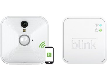 blink Wireless Smart Home HD-Kamera-System - Starterset 1+1 »1 Kamera-System - B1SC1M11«, weiß, weiss