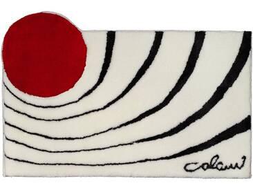 Colani Badematte » 2« , Höhe 24 mm, rutschhemmend beschichtet, fußbodenheizungsgeeignet, weiß, 24 mm, weiß