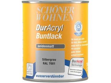 SCHÖNER WOHNEN-Kollektion Schöner Wohnen Farbe Buntlack »DurAcryl seidenmatt, 750 ml silbergrau«, grau, grau