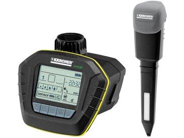 KÄRCHER Set: Sprinklersystem »SensoTimer ST6 eco!ogic«, schwarz, schwarz