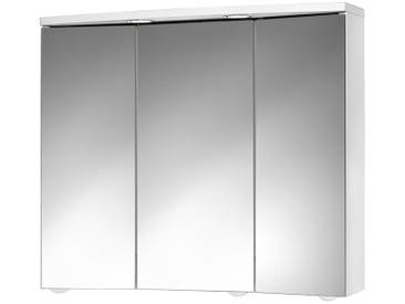 jokey Jokey Spiegelschrank »Trava« Breite 75 cm, mit LED-Beleuchtung, weiß, weiß