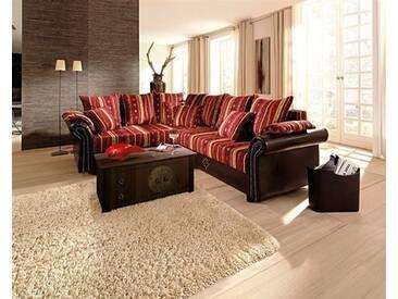 Home affaire Polsterecke »Norra«, rot, Bettfunktion rechts, rot