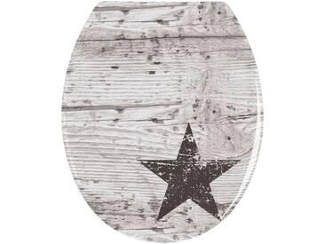 WENKO Wenko WC-Sitz »Star«, bunt, bunt