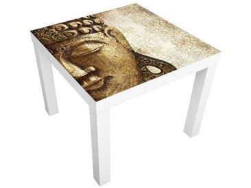 Bilderwelten Möbelfolie für IKEA Lack »Vintage Buddha«, bunt, Farbig
