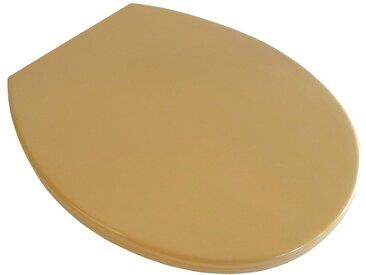 ADOB WC-Sitz »Riva«, gelb, curryfarben