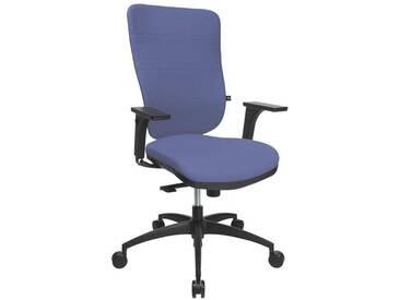 TOPSTAR Bürostuhl ohne Armlehnen »Soft Pro 100«, blau, royalblau