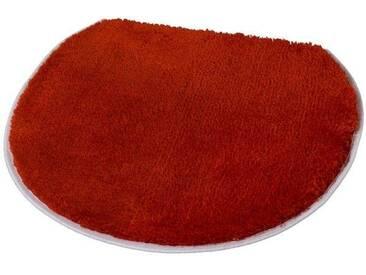 Kleine Wolke Badematte »Soft« , Höhe 20 mm, rutschhemmend beschichtet, rot, 20 mm, chili