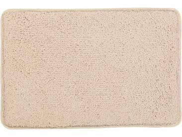 Kleine Wolke Badematte »Trend« , Höhe 35 mm, schnell trocknend, rutschhemmend beschichtet, fußbodenheizungsgeeignet, gelb, 35 mm, champagner