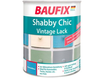 Baufix BAUFIX Acryl Buntlack »Shabby Chic«, Antik Lack, himmelblau, 750 ml, blau, 0.75 l, blau