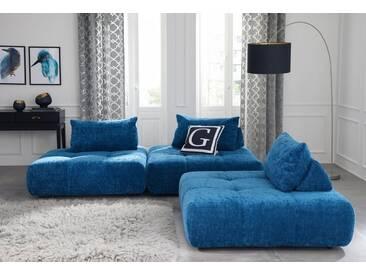 Guido Maria Kretschmer Home&Living GMK Home & Living Polsterecke »Eidum«, variabel, gleichschenklig, inklusive Kissen, grün, Gleichschenklig, petrol