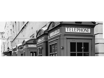 Artland Wandgarderobe »Tupungato: Londoner Straße«, weiß, 30 x 90 x 2,8 cm, Weiß