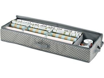 Zeller Present Zeller Geschenkpapier-Organizer, Polyester, grau, Maße(B/T/H):(90/12/30), grau