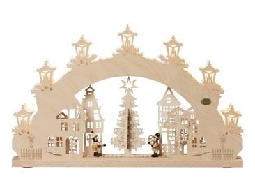 SAICO Original 3D-Lichterbogen Auf dem Weihnachtsmarkt, natur, Natur