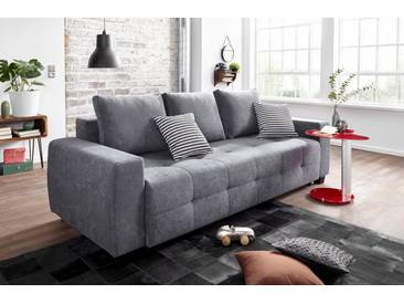 COLLECTION AB Schlafsofa, grau, 241 cm, anthrazit