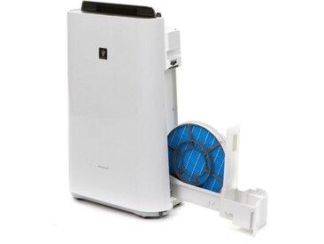 Sharp Kombigerät Luftbefeuchter und -reiniger KC-D40EUW Plasmacluster, für 26 m² Räume, weiß, weiß