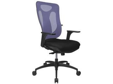 TOPSTAR Bürostuhl ohne Armlehnen »Net Pro 100«, blau, blau