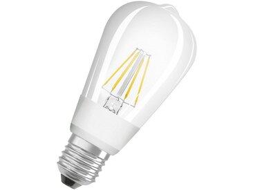 Osram LED Superstar CLASSIC, LED Filament Lampe, dimmbar »SST CLAS ST 60 7 W/827 E27 GLOWdim«, weiß, weiss