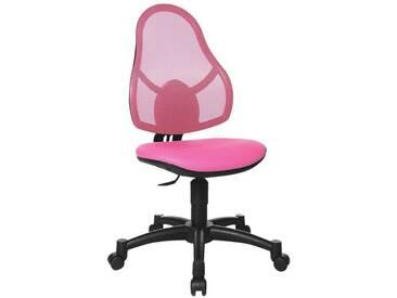 TOPSTAR Kinderdrehstuhl ohne Armlehnen »Open Art Junior«, rosa, pink