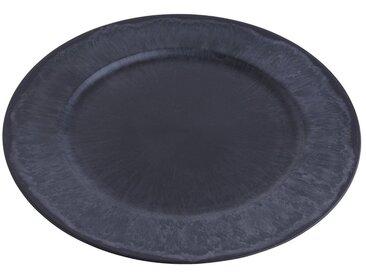 """Teller """"Eilat"""" Ø 33 cm Grau Marmoriert"""
