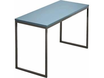 now! by hülsta Couchtisch »CT 17« zeitloses Design in hochwertiger Verarbeitung, blau, Maße (B/T/H): 106/42/34 cm, Tischplatte blau