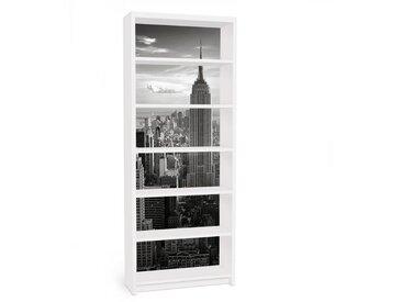 Bilderwelten Möbelfolie für IKEA Billy Regal »Manhattan Skyline«, bunt, Farbig