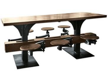 Loberon Tisch »Richmond Hill«, braun, braun
