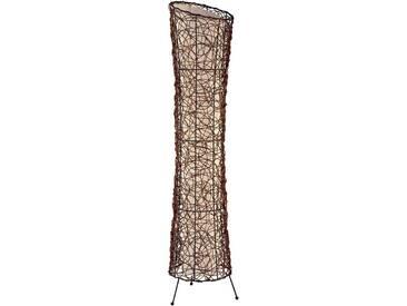 Nino Leuchten Stehlampe »RUTH«, 2-flammig, braun, 2 -flg. / Ø25 cm, braun-beige