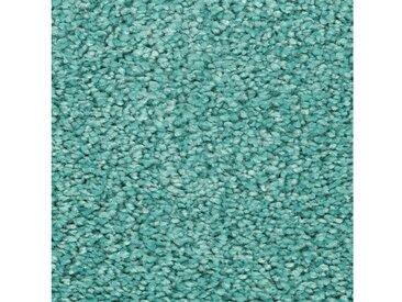 Vorwerk VORWERK Teppichboden »Passion 1001«, Meterware, Velours, Breite 400/500 cm, blau, türkis x 3N45