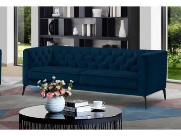 Leonique 3-Sitzer »Narmada« im Chesterfield-Design, grün, ocean