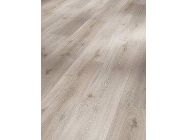 PARADOR Vinyllaminat »Basic, Eiche grau geweißt«, grau, 1 Paket (2,38 m²), grau